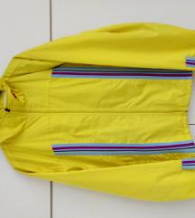 Neon zuta jakna kappa