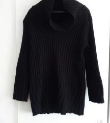 H&M crni dzemper - tunika