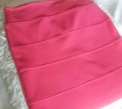 Pink suknja AMISU- New Yorker