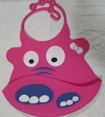 Babyono roze silikonska portikla za bebe
