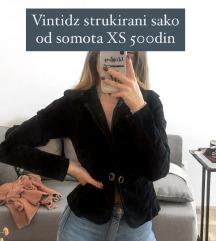 Somotski crni sako
