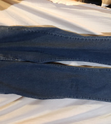 Retro mom jeans farmerke sa visokim strukom