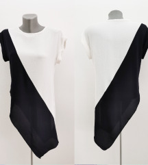 FUSCIA asimetrična bluza NOVO