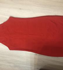 Crvena uska pull&bear haljina
