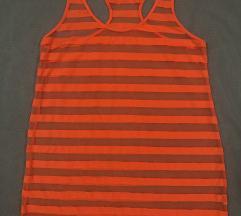 Majica za plazu, leto neon narandzasta
