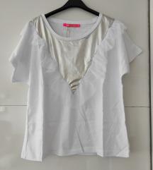 Bela bluza Novo S