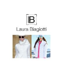 Laura Biagiotti bela zimska jakna