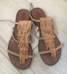 Izalijanske kozne sandale
