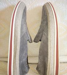 Original Prada muske sive mokasine 42.5