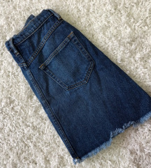 Teksas mini suknja