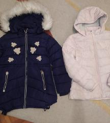 💕Dve zimske jakne za devojčice vel.10-11💕