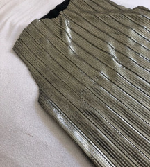 Mango srebrna bluza