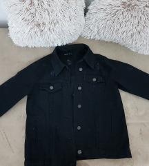 Teranova teksas crna jakna