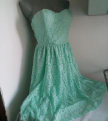 Rezedo top cipkana haljina M