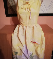 AKCIJA!!!Divna letnja zuta haljina