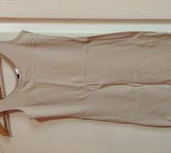 Haljina Bež jako uska i uz telo
