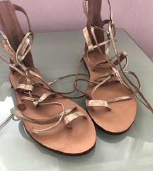 Hm kozne sandale, nenosene, snizeno