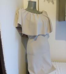 Krem haljina veliki karner S