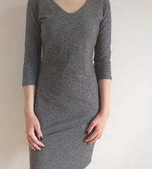 Siva zimska haljina