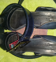 Kožne sandale i kaiš 38