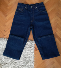 Mom jeans duboke farmerke-Novo-Snizene na 900 din