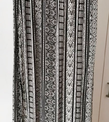 Maxi suknja sa slicevima Amisu