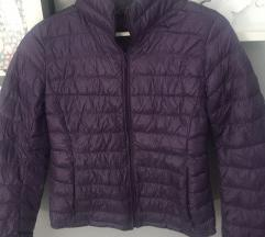 Uniclo ljubicasta jakna