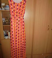 TOPSHOP Maxi narandzasta sa tufnama maxi haljina