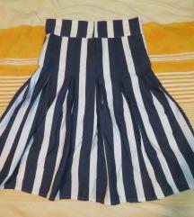 Mornarski stil, suknja, nova
