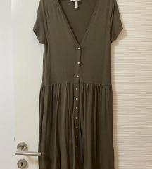 Nenošena H&M haljina od meke viskoze