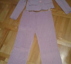 Rozi komplet sako i pantalone