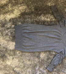 SNIZENO NA 500 RSD Siva haljina