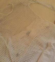 Mrezasta bela majica