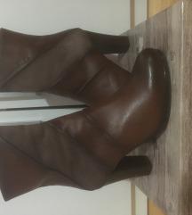 Kozne braon cizme