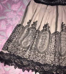Prelepa cipkana nude suknja AKCIJA!