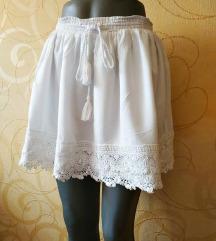 SUPERDRY bela suknja - odlična