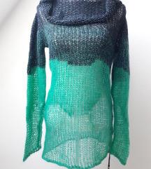 DIESEL crno zelena džemper