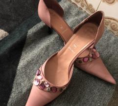 Sandale na štiklu sa cirkonima