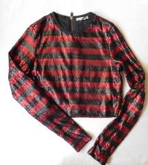 Zara šljokičava bluza