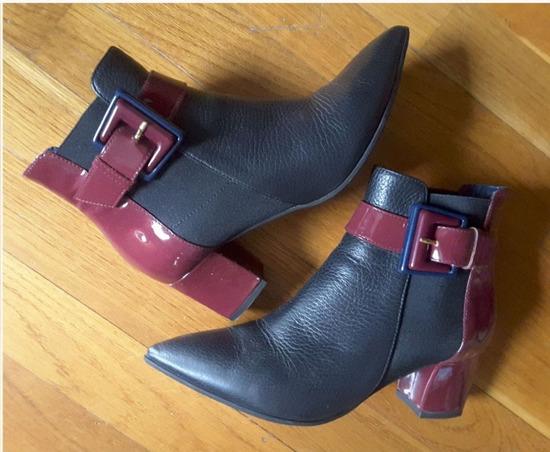 %10.500-Pollini ankle boots koža, original