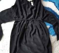 Mala crna svilena H&M! 36