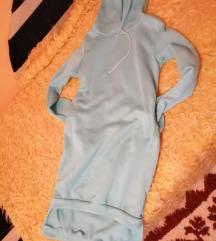 Plava duks haljina