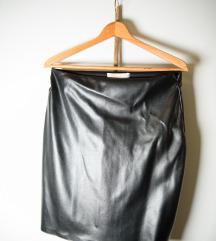Mini suknja od skaja.