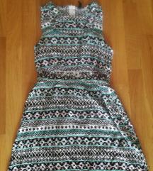 H&M Divided sarena haljina SNIZENJE