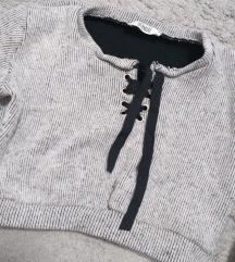 CROP duks/ džemperić