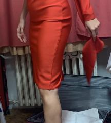 Crvena haljina Herve Leger NOVO