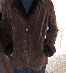 AKCIJA!!!! Yesica C&A kozna monton jakna *NOVO*