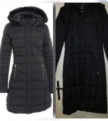 Duga crna jakna