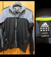 Adidas gornji deo trenerke sivo-crni