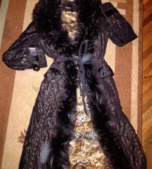 SNIZENOOO 20000Luksuzna jakna s pravim krznom